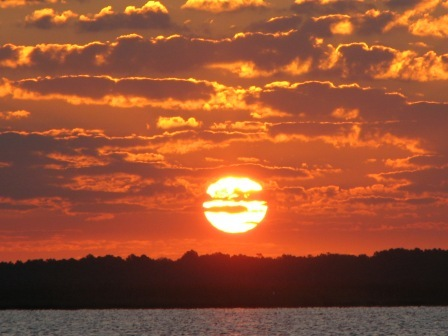 mediation prep crabbing-sunrise
